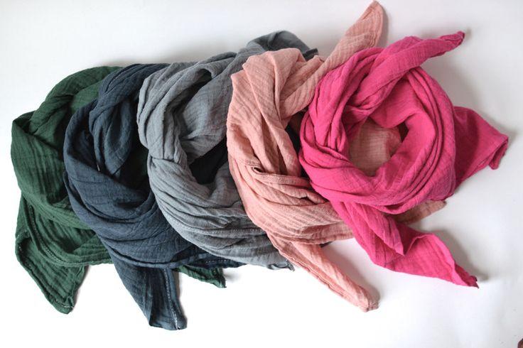 Halstücher - Babytuch Kindertuch Pink - ein Designerstück von babymien bei DaWanda