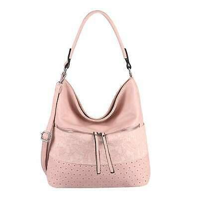 Photo of WOMEN BAG Flower Handbag Shoulder Bag Shopper Leather Look Shoulder Bag …