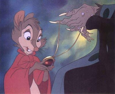 """The Secret of NIMH. Mrs. Brisby. I missed this in the book. """"You can open any door, as long as you have the key."""""""