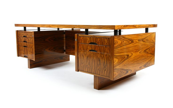 Lysgaard Mobler 1970s Danish Rosewood Desk