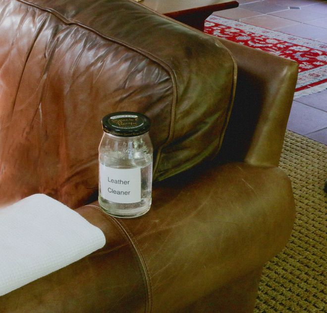 Common Household Cleansers For Leather Upholstery Clean