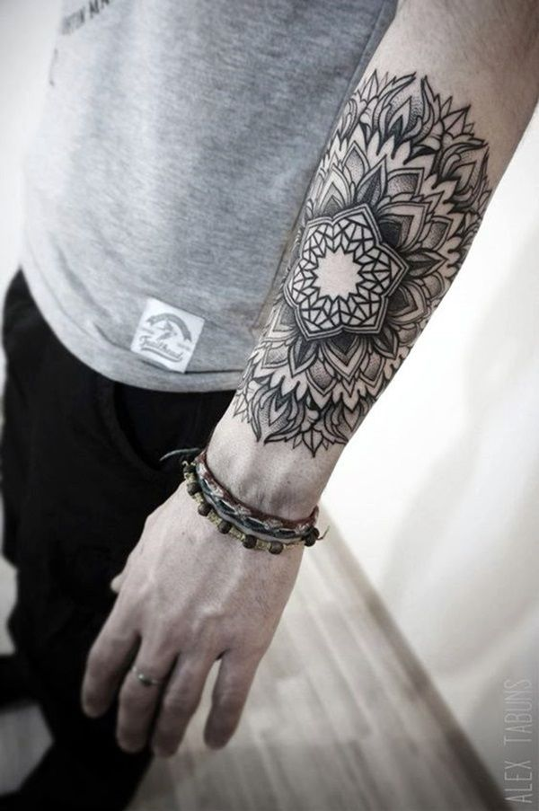 39 Best Mandala Forearm Tattoo Designs For Men And Women