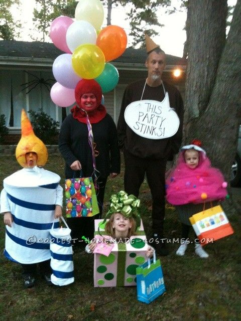 original family costume idea party of five - Halloween Costumes Family Of 5