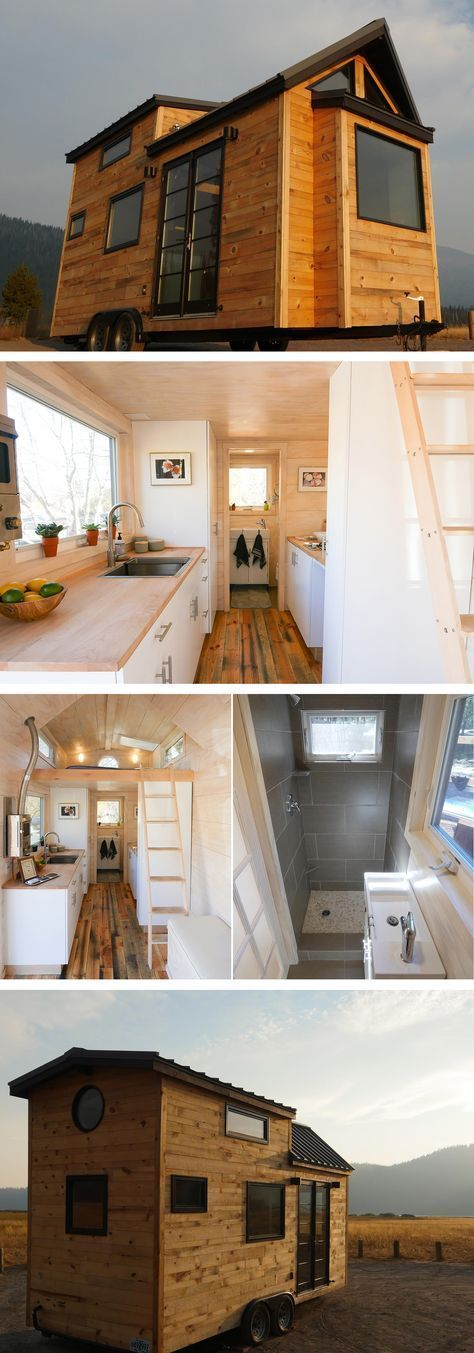 #tumbleweed #tinyhouses #tinyhome #tinyhouseplans Tongue & Groove, Bend, OR, USA. We build, sell, and rent custom-made structures on wheels – from Tiny Houses to Tiny Taverns. Off the grid on a remote plot of land or plug-in, we'll work with you to construct the perfect house, office, food cart – whatever you can imagine. #OffTheGridVideos