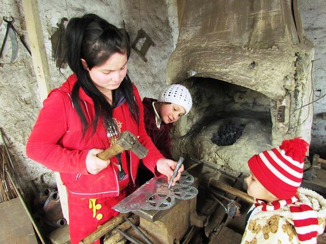 Women can... be blacksmiths