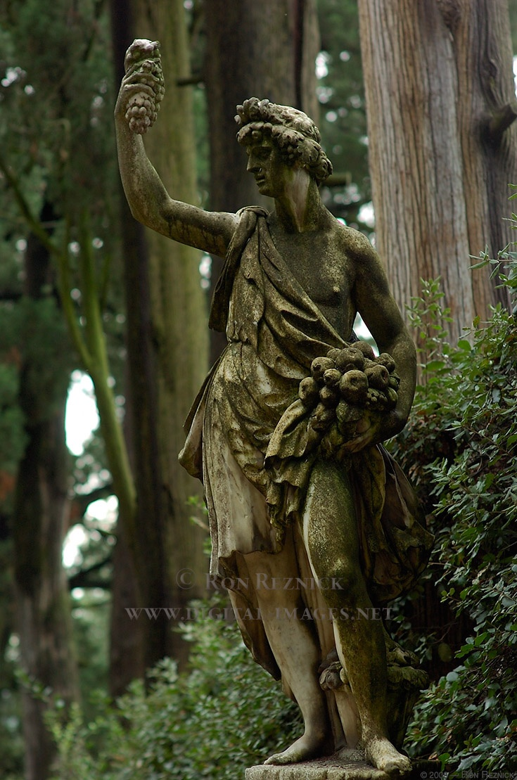 """""""L'Autunno"""" - Firenze, Giardino di Boboli.    http://www.digital-images.net/Images/PalazzoArt/Autumn_GiovanniCaccini_Boboli_5688.jpg"""