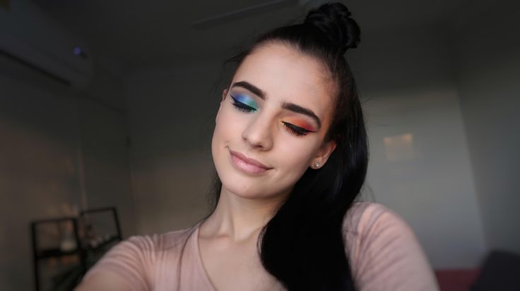A rainbow look I did when gay marriage was legalised here in Australia. CCW