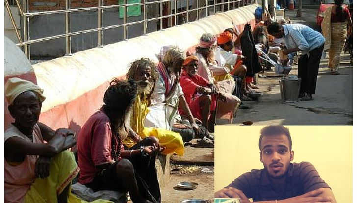 WHY BEGGARS NOT ALLOWED IN TEMPLE BY DEEPANSHU YADAV