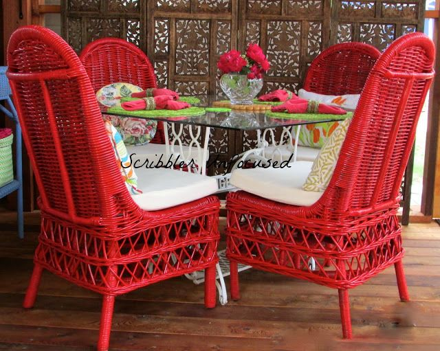 AWESOME Inspiration For Painting Wicker Furniture.