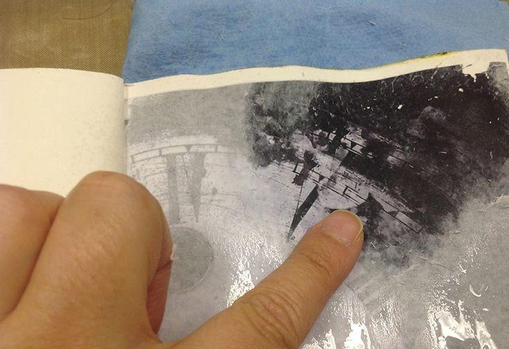 Club de art journal de Québec : Art Journal 101 - Le transfert d'image