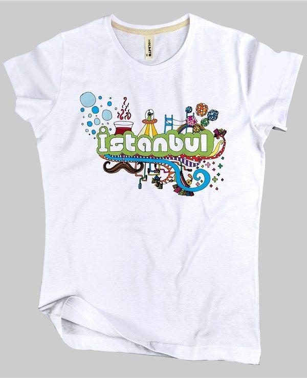Tish-O Nolimito İstanbul Kadın Tişört