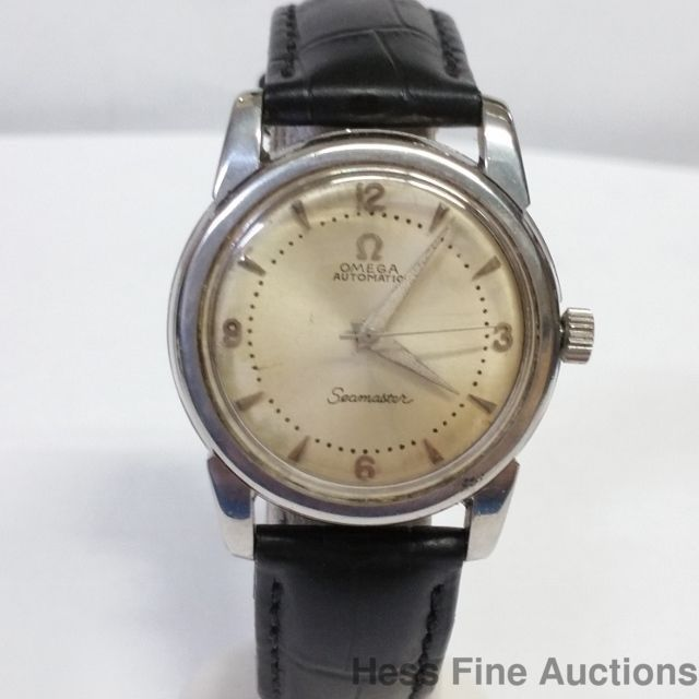 Omega Automatic Seamaster Vintage Mens 471 Calibre Watch Running 1950s #Omega…