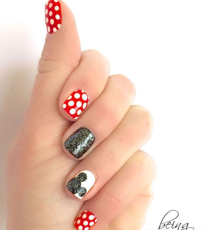 idées concernant Dessins Dongles De Disney sur Pinterest  Ongles