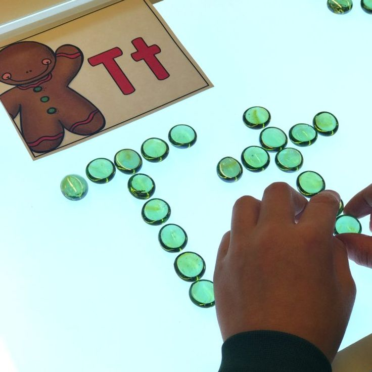 Letters on the Light Table (from A Differentiated Kindergarten)