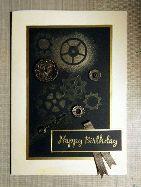 73 best Steampunk cards images – Steampunk Birthday Card
