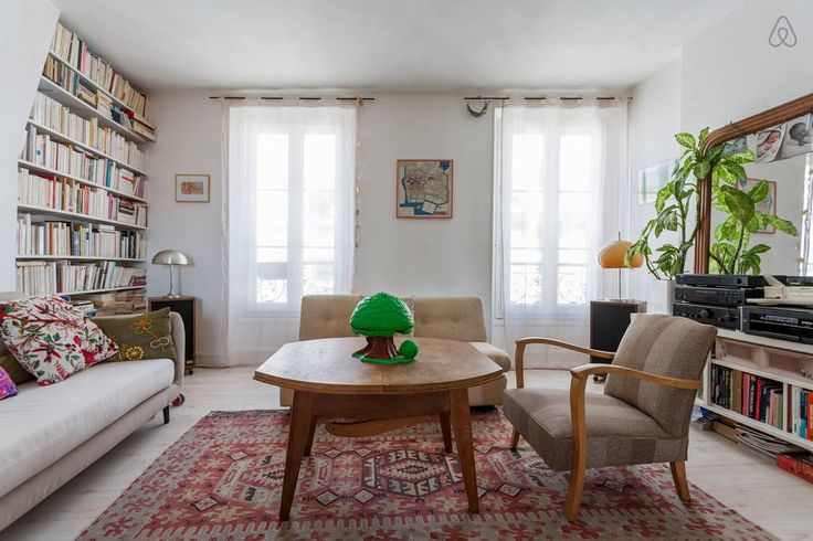 Check out this awesome listing on Airbnb: Charming family duplex Belleville - Flats for Rent in Paris