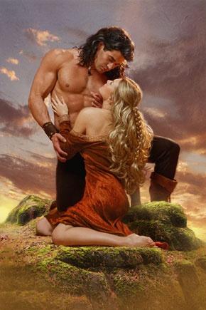 Artist: Victor Gadino; romance novel cover art; romantic; lovers; couple; beautiful; beauty; painting; paintings
