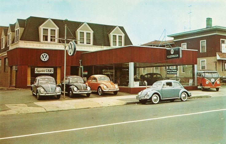 Vintage VW Dealership