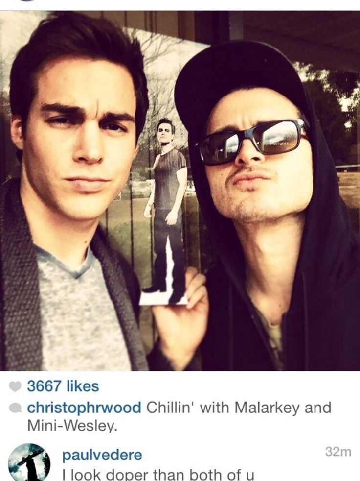 The Vampire Diaries ... Chris Wood and Michael Malarkay as Kai and Enzo ...two badasses ... together they would be unbeatable:')
