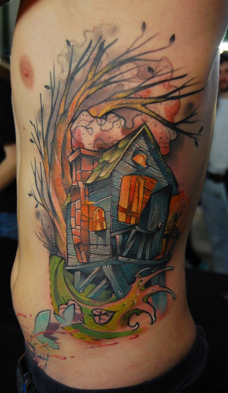 Pin eulen tattoo bedeutungen f on pinterest - Tattoo The Swamphouse By Jukan6 Deviantart Com On Deviantart