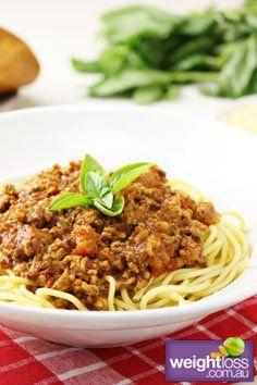 Spaghetti+Bolognese+.+#HealthyRecipes+#DietRecipes+#WeightLossRecipes+weightloss.com.au
