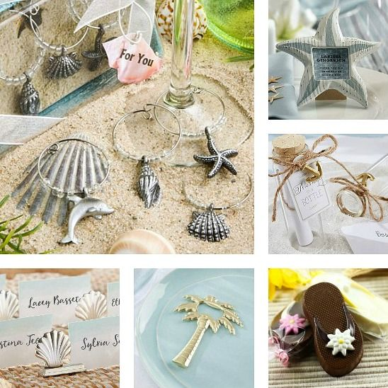The Cutest Beach Favors For Parties, Birthdays, Weddings And More.