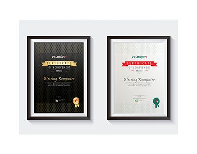 "Check out new work on my @Behance portfolio: ""( KASPERSKY )Certificate of Achievement"" http://on.be.net/1LRt7hv"