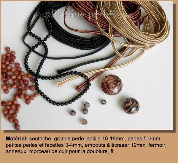 Soutache tutorial (in french)  Travailler la soutache - Mes bijoux en perles