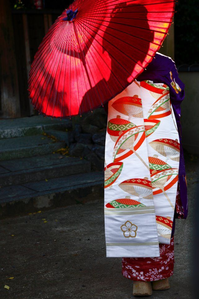 | Traditional Kimono | 着物 | Obi | 帯 | Maiko 舞妓 |