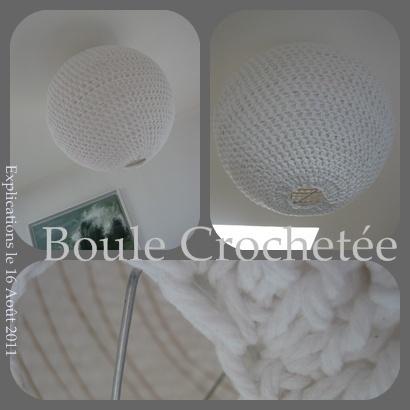 tuto pour crocheter un lustre en fran ais home pinterest crochet. Black Bedroom Furniture Sets. Home Design Ideas