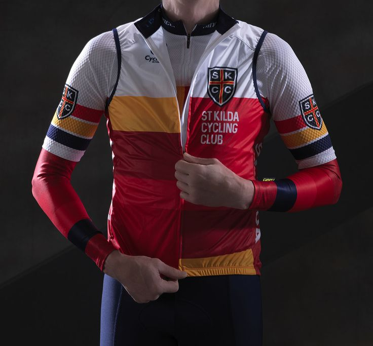 Matching vest also part of the kit for SKCC, Melbourne, Aus.