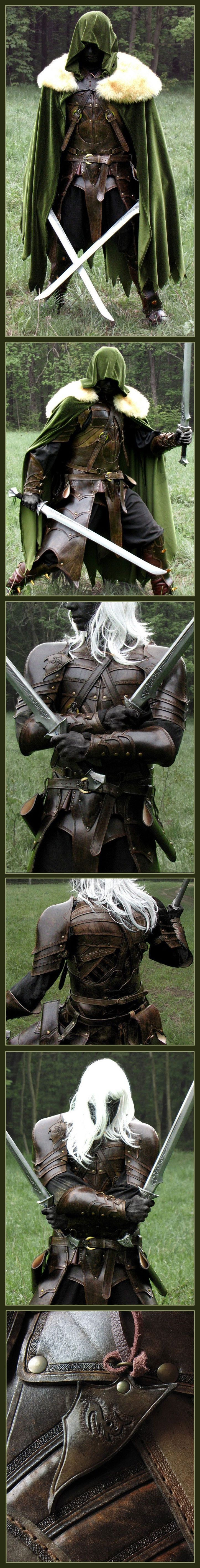 Drizzt Do'Urden looking absolutely fantastic!! :D