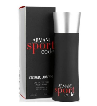 Armani Code Sport 30 ml #http://pinterest.com/savate1/boards/ Armani Code Sport is a refreshing and exciting masculine scent that represents
