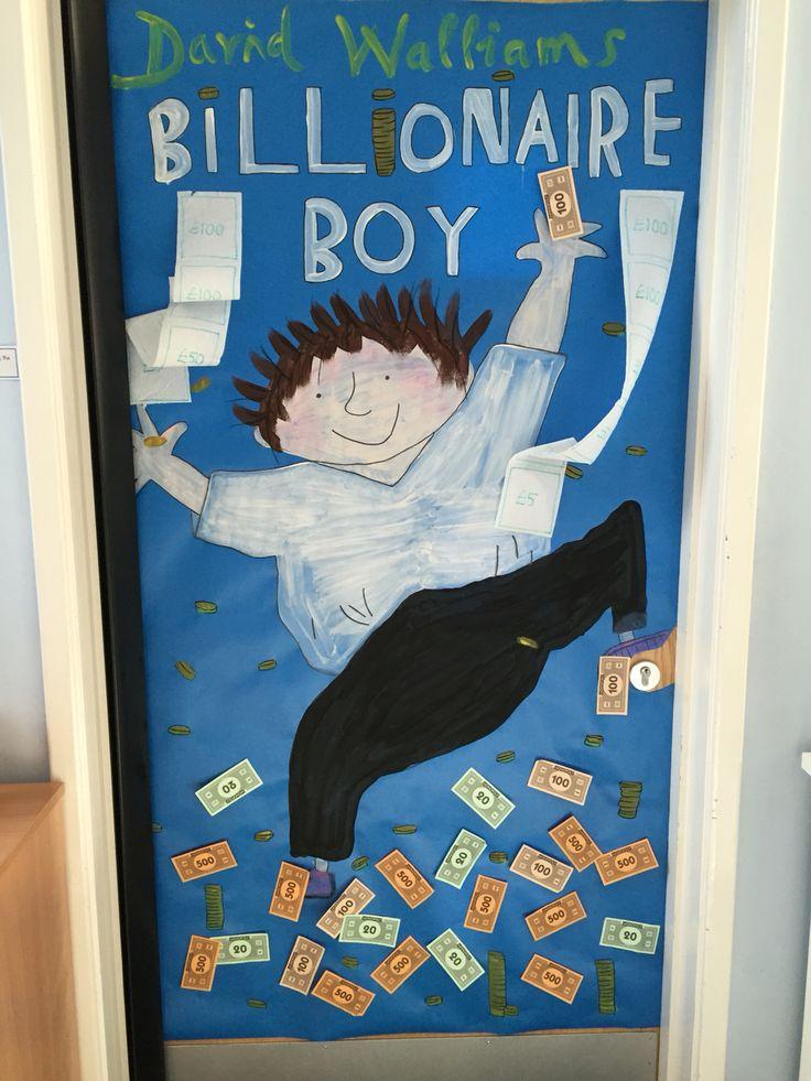 World Book Day Door Display David Walliams World Book