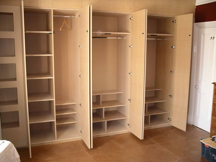 interior design of fitted wardrobe