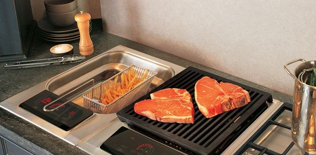 """15"""" Integrated Fryer 