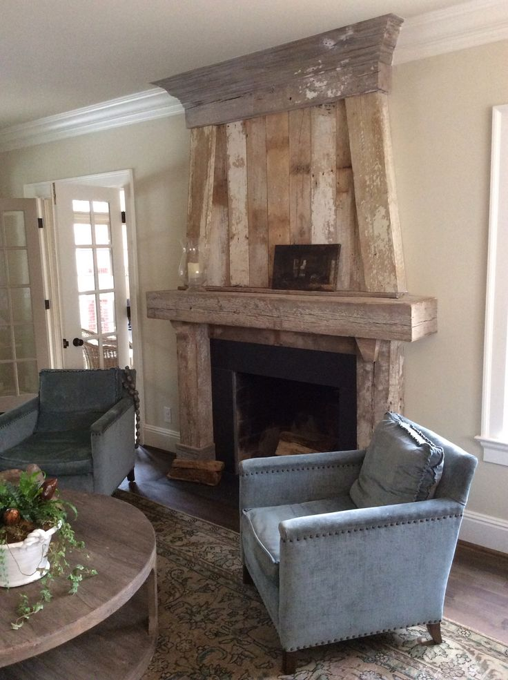 17 Best Images About Barn Wood Fireplaces On Pinterest Mantels Mantles And Concrete Fireplace