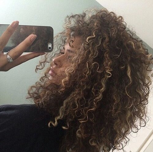 Swell 25 Best Ideas About Highlights Curly Hair On Pinterest Ombre Short Hairstyles For Black Women Fulllsitofus