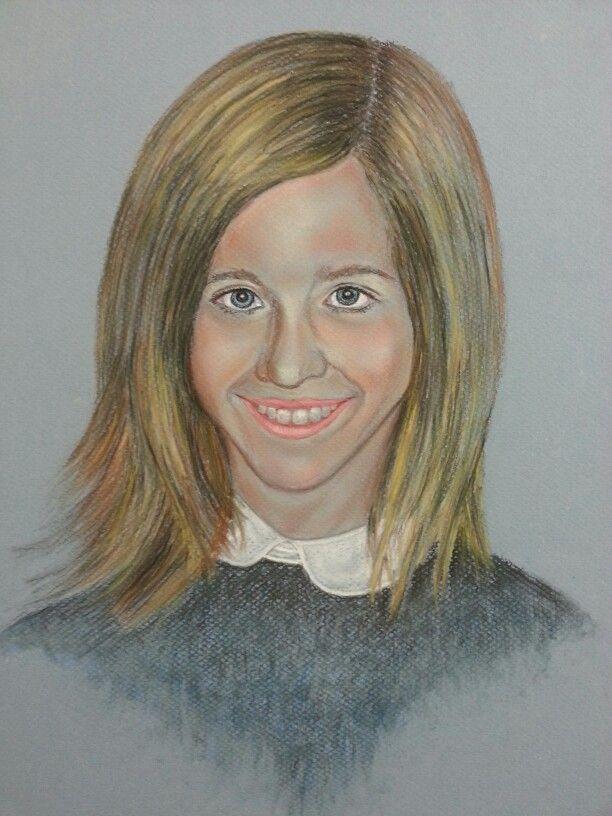 Retrato pastel
