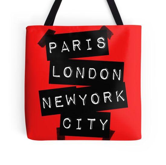 PARIS LONDON NEW YORK CITY
