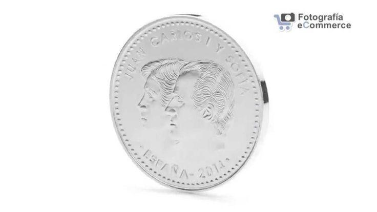 Trabajo realizado para la Fábrica Nacional de la Moneda y Timbre. Foto 360 animada de una moneda.