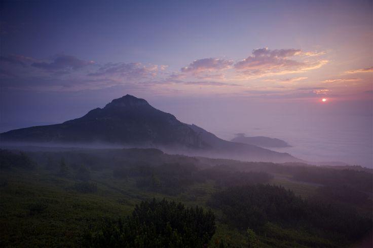 Ceahlau Gebirge: Toaca Gipfel