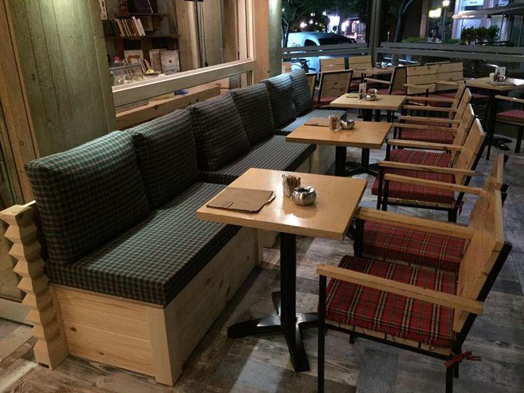 HACIENDA CAFE - Καναπέδες μοναδικής αισθητικής by DECOgeppetto