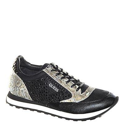 #Sneakers lavorata in tessuto nero di #Guess  http://www.tentazioneshop.it/guess/sneaker-glory-nero-guess-.html
