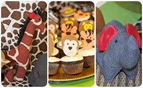 photos from the party we had at our house       at the door        the dessert table         are you as tall as a giraffe?    measure you...