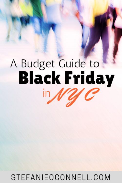 How to budget for Black Friday in NYC. Looking for Black Friday deals? Implement these tips to maximize your Black Friday savings - even in New York City.