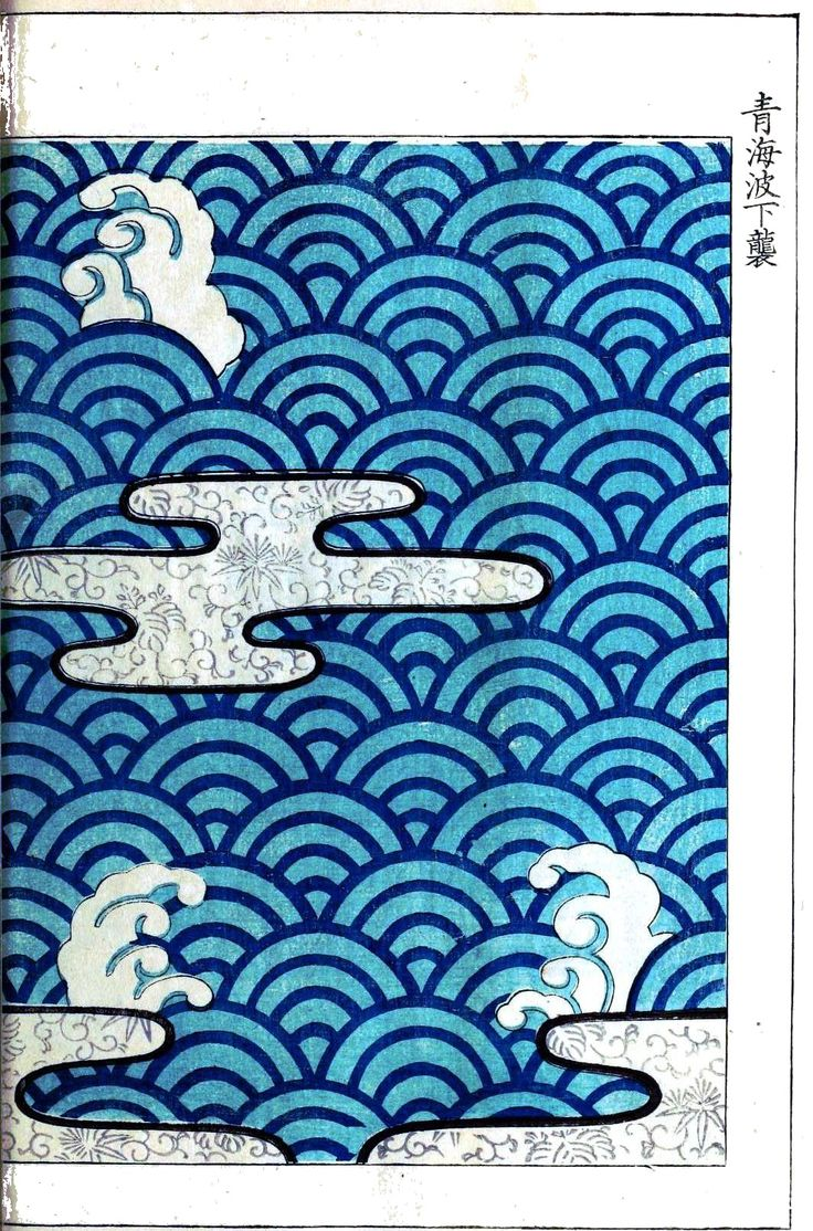 Design - Textile - Printed, Japanese / public domain