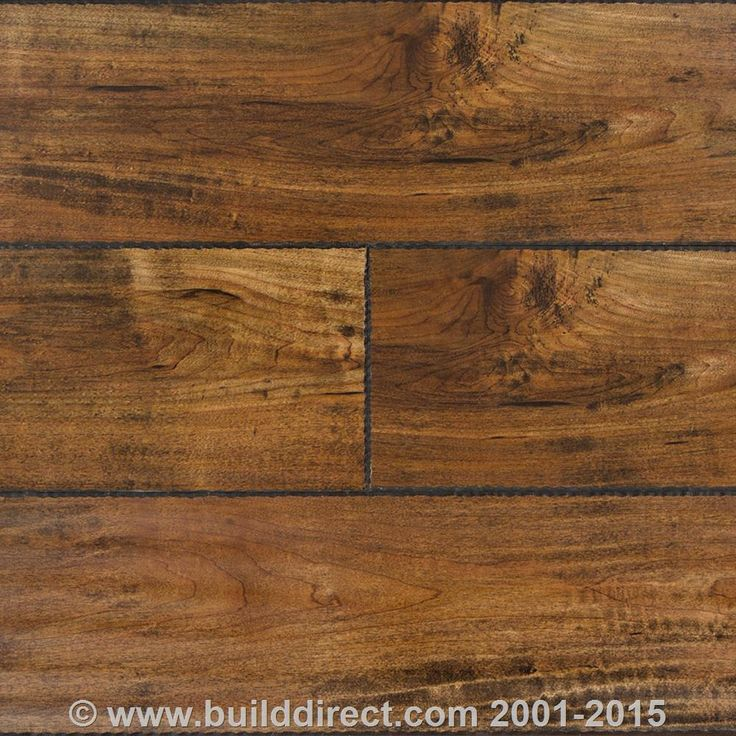 Laminate 12mm Chiseled Edge Collection Underpad Attached