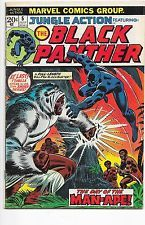 Jungle Action #5 Black Panther Bronze Age Marvel Comics F/VF