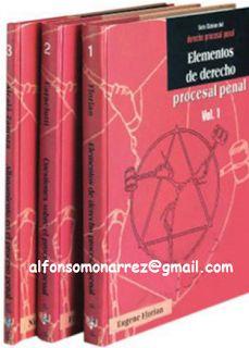 LIBROS EN DERECHO: SERIE CLÁSICOS DEL DERECHO PROCESAL PENAL